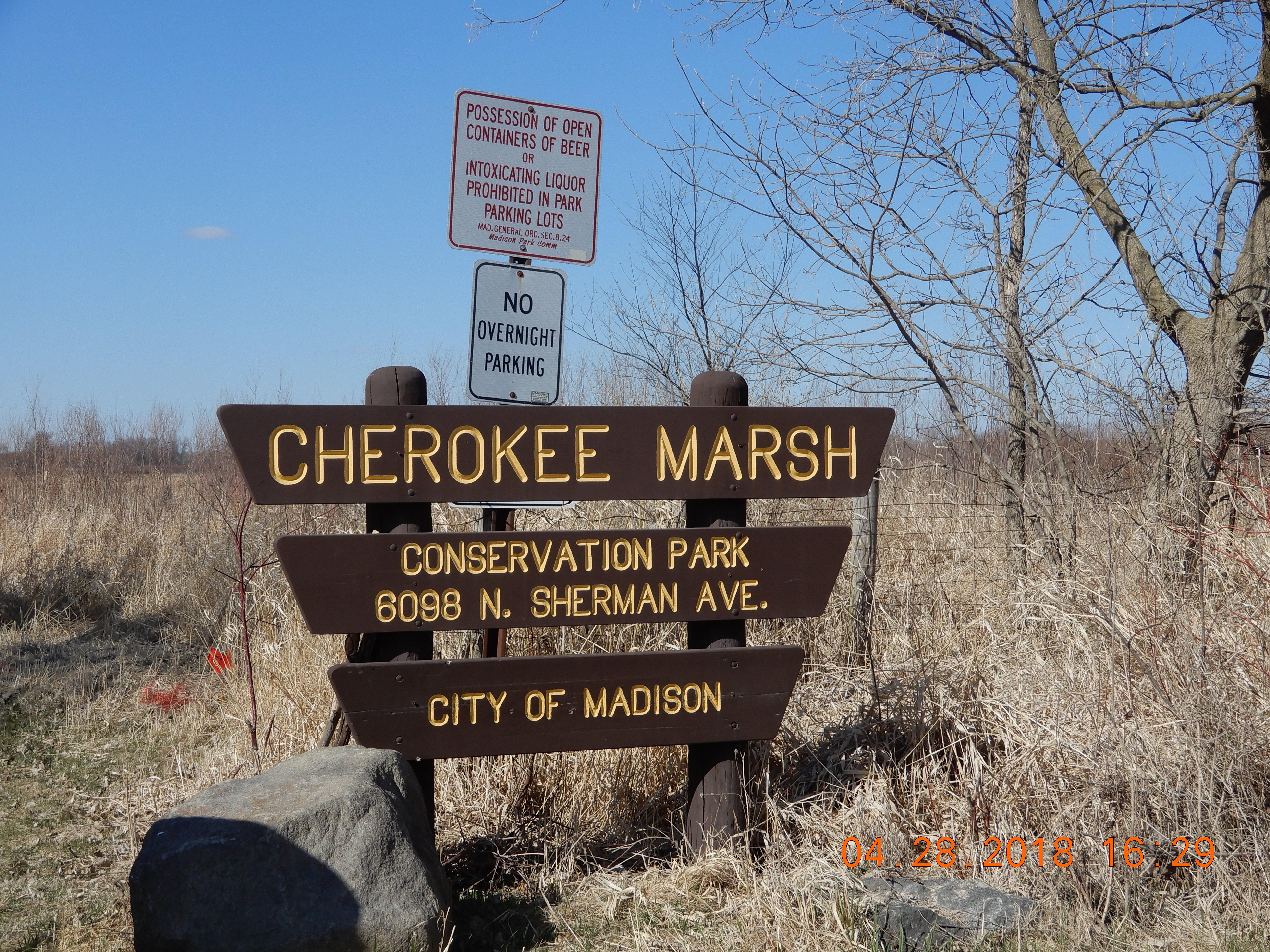 Cherokee marsh park